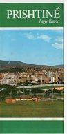 YUGOSLAVIA, KOSOVO, PRISTINA, TRAVEL BROCHURE - Tourism Brochures