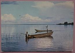 Fishing On Lake Bangweulu, ZAMBIA - Lusaka -   Vg - Sambia