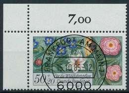 BRD 1985 Nr 1259 Zentrisch Gestempelt ECKE-OLI X854876 - Gebraucht