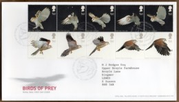 2003 Birds Of Prey Set FDC Tallents House - FDC