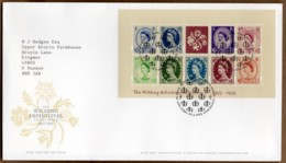 2003 Wilding Definitives Mini Sheet FDC Tallents House - FDC
