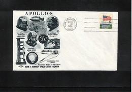 USA Space / Raumfahrt 1968 Apollo 8 Interesting Cover - Estados Unidos