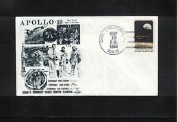 USA Space / Raumfahrt 1969 Apollo 10 Interesting Cover - Estados Unidos