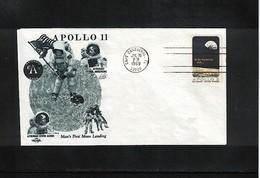 USA Space / Raumfahrt 1969 Apollo 11 Interesting Cover - Estados Unidos
