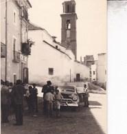 ALPUJARRA FONDON ALMERIA 18 Septembre 1954  Photo Amateur Format Environ 7,5 X 5,5 - Places