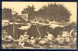 K1024- Rare Post Card Of Pakistan. Old Marhet, Rawalpindi Pakistan. - Pakistan