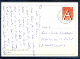 K1036- Postal Used Post Card. Post From Helvetia  Switzerland. - Switzerland