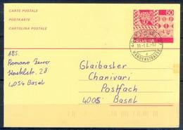 K1056- Postal Used Post Card. Post From Helvetia Switserland. - Switzerland