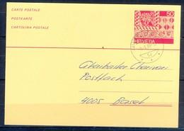 K1057- Postal Used Post Card. Post From Helvetia Switzerland. - Switzerland