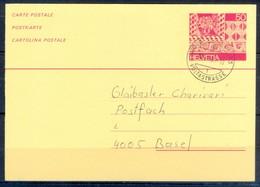 K1058- Postal Used Post Card. Post From Helvetia Switzerland. - Switzerland