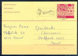 K1059- Postal Used Post Card. Post From Helvetia Switzerland. - Switzerland