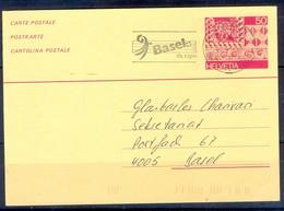 K1060- Postal Used Post Card. Post From Helvetia Switzerland. - Switzerland