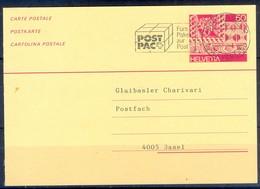 K1062- Postal Used Post Card. Post From Helvetia Switzerland. - Switzerland