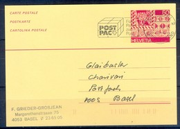 K1063- Postal Used Post Card. Post From Helvetia Switzerland. - Switzerland