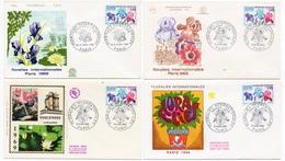 FDC  France 1969  - Floralies De Paris 1969 - YT 1597 - Paris - FDC