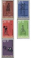 Ref. 27850 * MNH * - SURINAME. 1968. CHILDREN'S GAMES . JUEGOS INFANTILES - Stamps