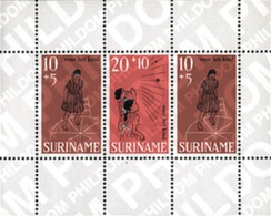 Ref. 54460 * MNH * - SURINAME. 1968. CHILDREN'S GAMES . JUEGOS INFANTILES - Stamps