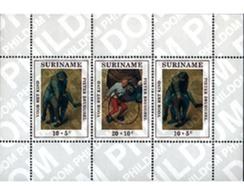 Ref. 54462 * MNH * - SURINAME. 1971. CHILDREN'S GAMES . JUEGOS INFANTILES - Surinam