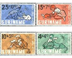 Ref. 29580 * MNH * - SURINAME. 1965. CHILDREN'S CHARITIES . PRO INFANCIA - Reptiles & Amphibians