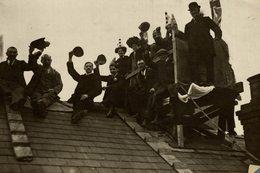 GRANDSTAND   DERBY FOOTBALL GROUNDS ASSOCIATION   16 * 11 CM Fonds Victor FORBIN 1864-1947 - Deportes