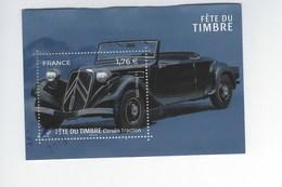Bloc Fête Du Timbre Citroën Traction Oblitéré 2019 - Sheetlets