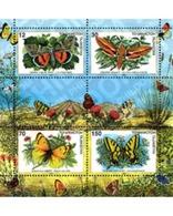 Ref. 238760 * MNH * - TAJIKISTAN. 1998. BUTTERFLIES . MARIPOSAS - Tayikistán