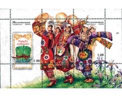 Ref. 115809 * MNH * - TAJIKISTAN. 2002. SPRINGTIME CELEBRATIONS . FIESTA DE LA PRIMAVERA - Tadschikistan
