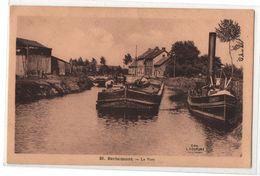 Carte Postale Berlaimont Le Port, édition L.couture Hautmont, Bateaux, Péniches, Non Circulée...........T1 - Berlaimont