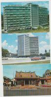 Malaysia Lot Of 3 Postcards Penang Kuala Lumpur - Malaysia