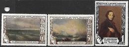 Russia  1950   Sc#1529-31  Art Set  MLH   2016 Scott Value $16.50 - 1923-1991 USSR