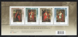 2010 Indian Kings In London 1710 Paintings Souvenir Sheet Of 4 Different Sc 2383  MNH - Ungebraucht