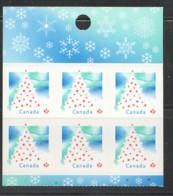 2009  Christmas Tree  Booklet Pane Of 6  Sc 2345 - 1952-.... Elizabeth II