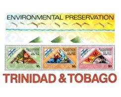 Ref. 54613 * MNH * - TRINIDAD AND TOBAGO. 1981. ENVIRONMENT PROTECTION . PROTECCION DEL MEDIO AMBIENTE - Fishes