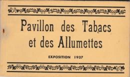 PARIS EXPOSITION 1937 PAVILLON DES TABACS ET DES ALLUMETTES CARNET SEITA - Mostre