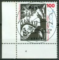 BRD 1694 Eckrand Unten Links O Sonderstempel Bonn - BRD