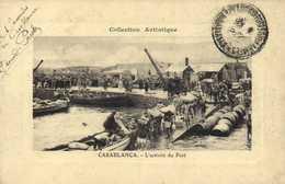 CASABLANCZ  L'activité Du Port RV - Casablanca