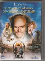 DVD LES DESASTREUSES AVENTURES DES ORPHELINS BAUDELAIRE Avec Jim Carrey Etat: TTB - Fantastici