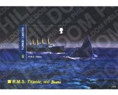 Ref. 318259 * MNH * - TURKS AND CAICOS Islands. 2012. RL TITANIC - Turks And Caicos