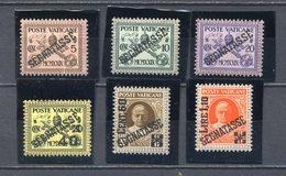 VATICANO 1931  SEGNATASSE  1/6 - MNH** - Unused Stamps