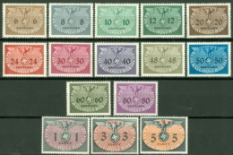 Generalgouvernement Dienst 1/15 ** Postfrisch - Gouvernement Général