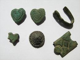 Ancient Vikings Bronze Ornaments 9-13 Century. - Archaeology