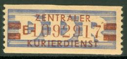 DDR ZKD 21-E ND ** Postfrisch Gepr. Engel - [6] République Démocratique