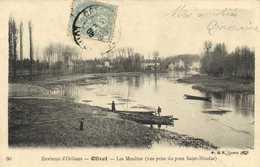Environs D'Orleans Olivet Les Moulins (vue Prise Du Pont Saint Nicolas RV - France