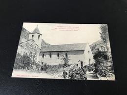 Les Pyrénées Ariegeoises - 862 - Environs D'AX LES THERMES MÉRENS L'Eglise, Sortie De La Messe - Autres Communes