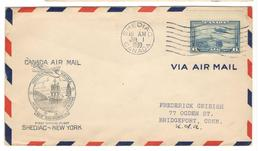 17233 - SHEDIAC NEW YORK - Briefe U. Dokumente