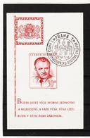 Post298 TSCHECHOSLOWAKEI CSSR 1948  MICHL BLOCK 10 Used / Gestempelt Siehe ABBILDUNG - Gebraucht