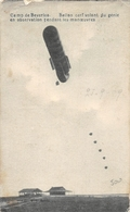 Camp De Beverloo Ballon Cerf Volant De Génie En Observation Pendant Les Maneuovres 1919 - Dirigeables