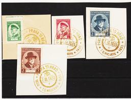 Post299 TSCHECHOSLOWAKEI CSSR 1935  MICHL 332/35 Used / Gestempelt Siehe ABBILDUNG - Tschechoslowakei/CSSR