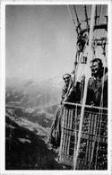 SERIE C Nr6 La TRAVERSEE DES ALPES - Mürren 1962 - Montgolfières