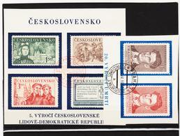 Post301 TSCHECHOSLOWAKEI CSSR 1950  MICHL 608/13 Used / Gestempelt Siehe ABBILDUNG - Tschechoslowakei/CSSR